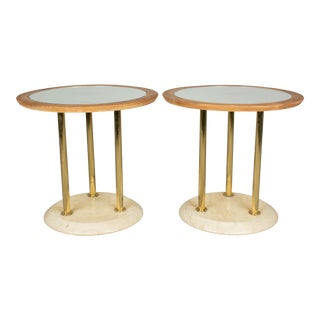 1930s French Art Deco Tables - a Pair For Sale