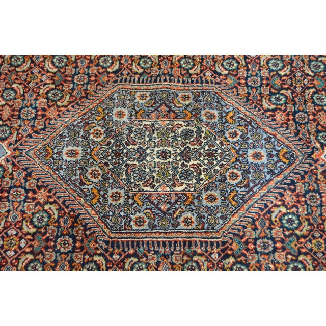 Farahan Sarook Blue Hand Knotted Persian Oriental Room Size Rug Carpet -- 9' x 11' - Image 7 of 10