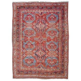 Antique Oushak Carpet For Sale