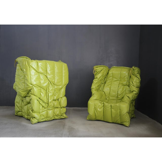 Acrilyc Polymer Pair of Armchairs by Gaetano Pesce Meritalia From 2007 For Sale - Image 7 of 7