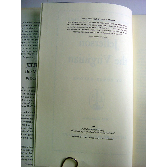 Jefferson and His Time - 6 Volumes - Image 5 of 6