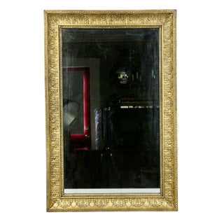Charles X Giltwood Mirror For Sale