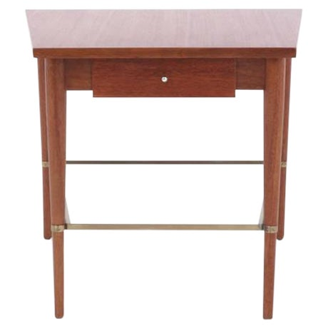 Rare Paul McCobb Trapezoidal Side or End Table For Sale