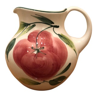 Vintage Pizzato Pitcher Hand Made in Italy For Sale