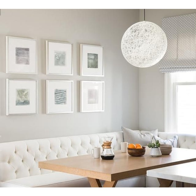 This is a Design Within Reach Moooi Random light for sale. This light was installed for a year in a bedroom and we no...
