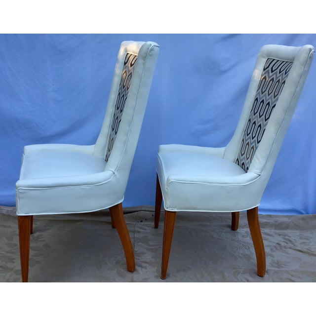 1930s French Art Deco Chevron Side Chairs - a Pair For Sale In Nashville - Image 6 of 13