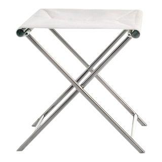 Summit Furniture Sundeck Folding Directors Footrest/Table For Sale