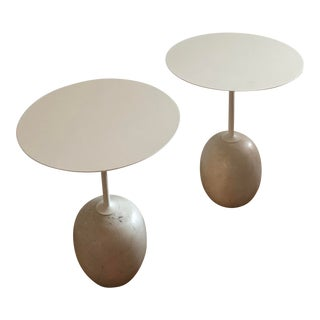 Modern Luca Nichetto Lato Ln8 Side Tables - a Pair For Sale