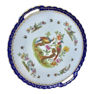Austria Porcelain Plate Tray For Sale