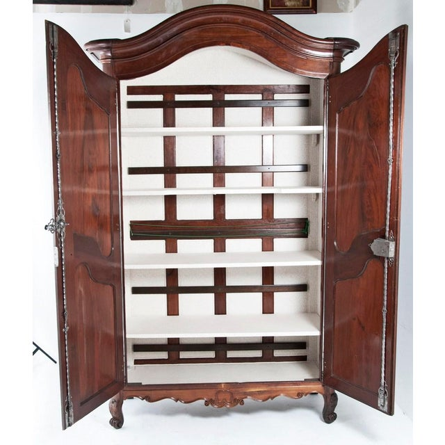 Fruitwood Chateau Armoire - Image 2 of 6