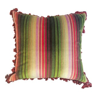 Contemporary Custom Pillow With Down Insert - 20x20 For Sale