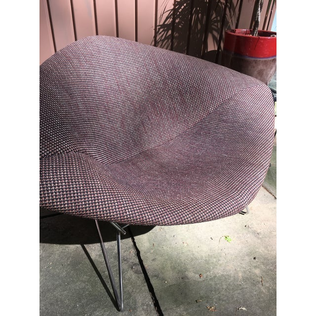 1970s Mid Century Modern Harry Bertoia for Knoll Diamond Lounge Chair - Image 4 of 8