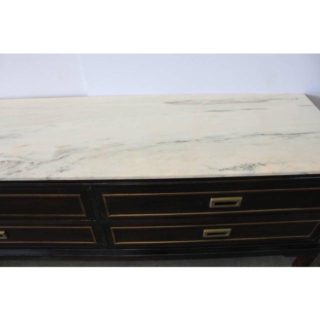 "Mid-Century Modern Vintage Mid-Century Kipp Stewart for Drexel ""Sun Coast"" Sideboard For Sale - Image 3 of 3"