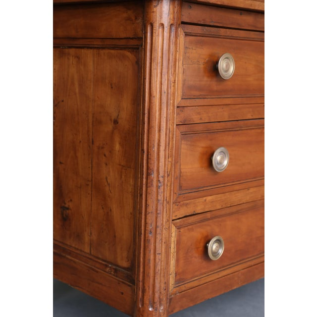 Mid 19th Century 19th Century Louis XVI Fruitwood Commode For Sale - Image 5 of 11