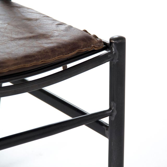 Modern Higgsly Chair in Brown For Sale - Image 3 of 6