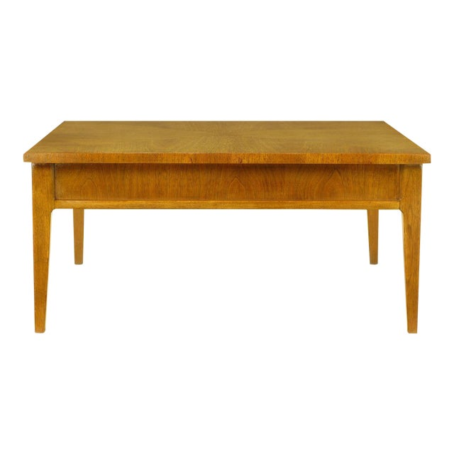 Michael Taylor For Baker New World Mahogany Coffee Table - Image 1 of 8