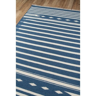 "Erin Gates by Momeni Thompson Billings Denim Hand Woven Wool Area Rug - 3'6"" X 5'6"" Preview"