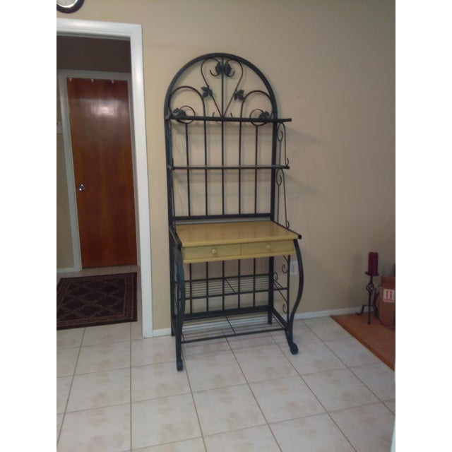 Metal Baking Rack with Grapevine Motif - Image 3 of 5