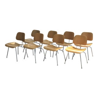 Modern Eames for Herman Miller Dcm Chairs- Set of 6 For Sale