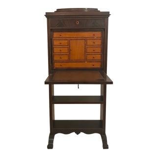 19th Century Regency Abattant Secretaire For Sale