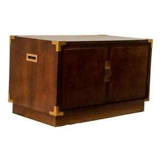 Campaign Style Trunk / Coffee Table For Sale