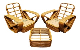 Image of Paul Frankl Chair and Ottoman Sets