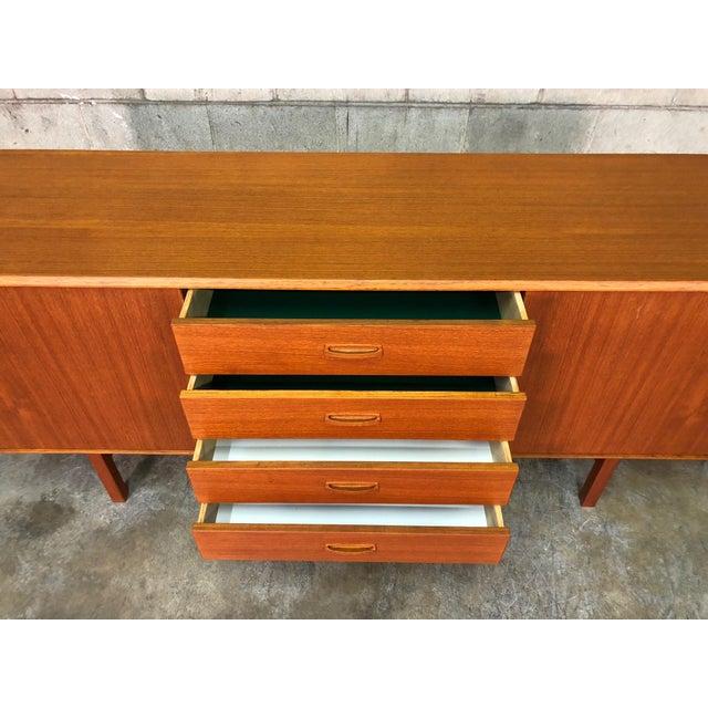 Mid Century Danish Modern Teak Credenza Sideboard For In Saint Louis Image