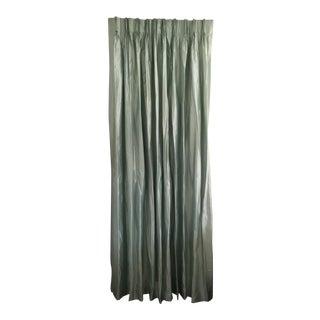 Silk Dupioni Pinch Pleat Drapery Panel