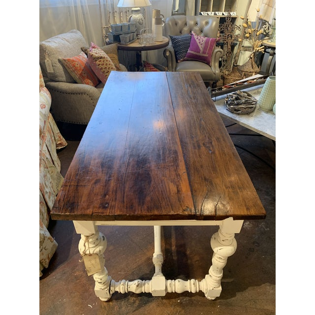 1910s French Farm Table For Sale - Image 11 of 13