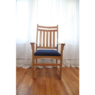 Late 20th Century Oak Arm Chairs- Set of 4 Preview