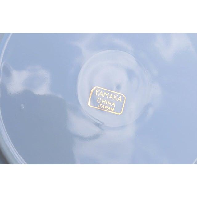 Pink Yamaka 12-Piece Bone China Teacup & Saucer Set For Sale - Image 8 of 9