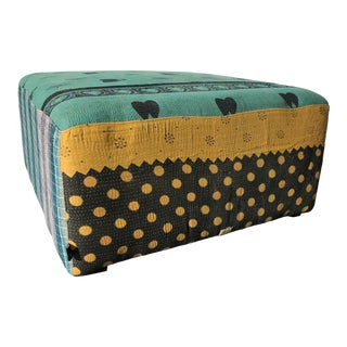 Modern Hay for Design Within Reach Ottoman For Sale