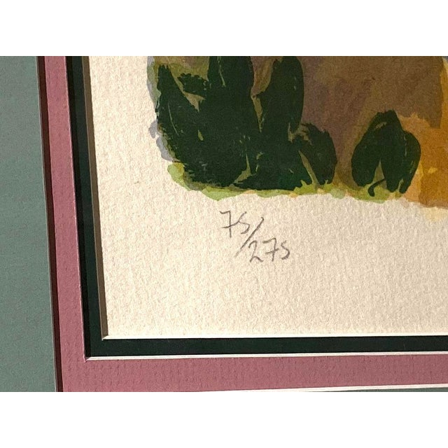 """Impressionist """"Garden by the Sea II"""" Framed Print by Carlton Penny For Sale - Image 3 of 11"""