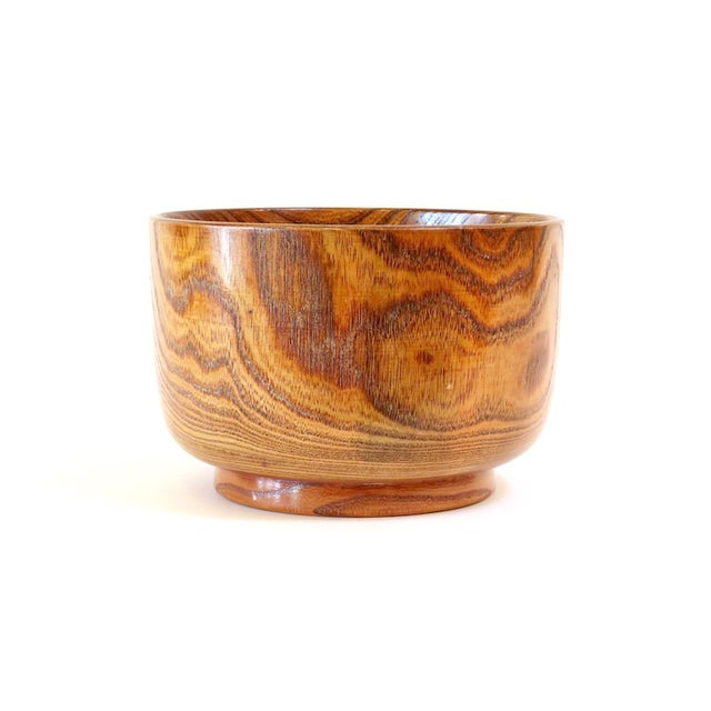 Lacquered Wood Bowl - Image 5 of 5