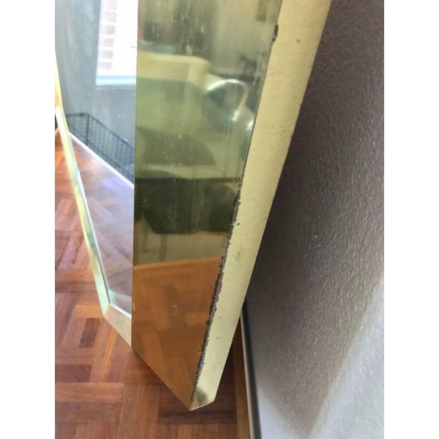 Springer Style Brass Beveled Glass Mirror - Image 9 of 9