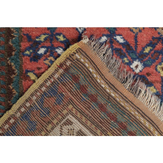 "Mint West Persian Kurdish Antique Rug - 3'4"" X 11' - Image 4 of 4"