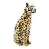 Image of Italian Terracotta Leopard Sculpture For Sale