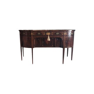 Federal Hepplewhite Style Inlaid Sideboard For Sale