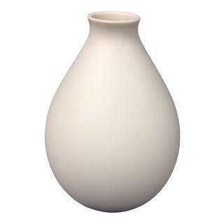Lenox Basin White Matte Vase