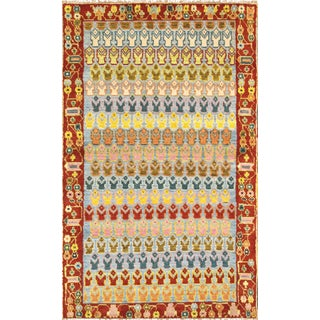 Vintage Turkish Anatolian Wool Area Rug For Sale