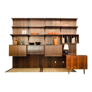 Cado Rosewood Wall Unit For Sale