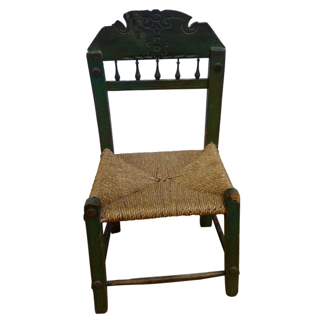 Spanish Colonial Chair - Image 1 of 4