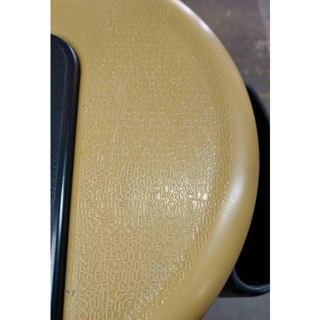 Plastic Polyurethane Desk by Ernst Igl For Sale - Image 7 of 10