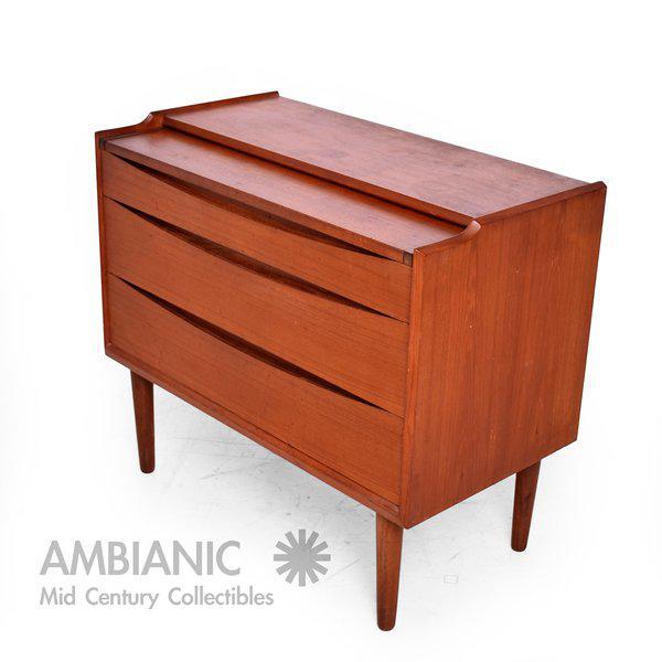 Arne Vodder Secretary Vanity Desk Dresser for Sibast - Image 7 of 10