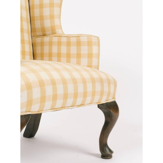 1970s 1970s Vintage Children's Wing Chair For Sale - Image 5 of 8