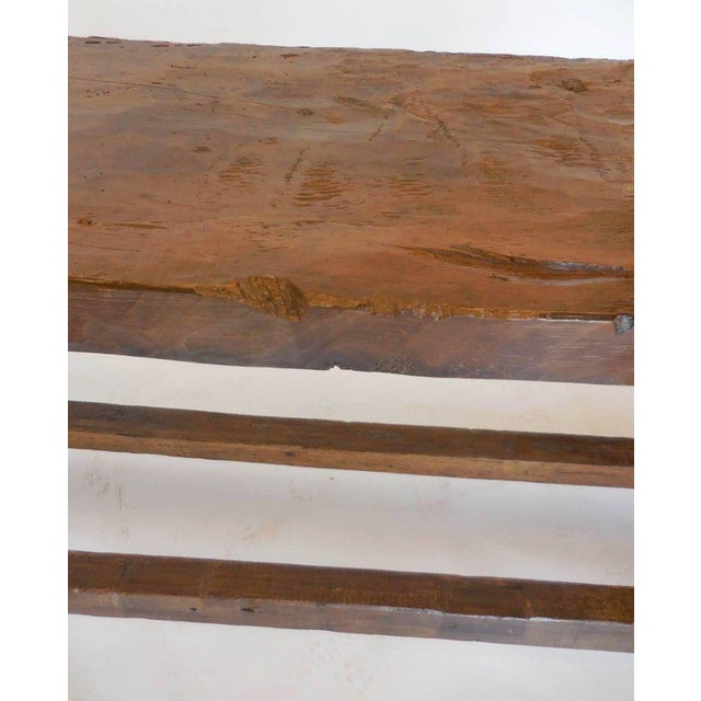 Late 19th Century 19th Century Wooden Console Table For Sale - Image 5 of 9