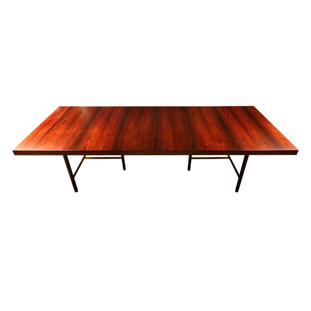 Harvey Probber Brazilian Rosewood Dining Table - Image 3 of 9