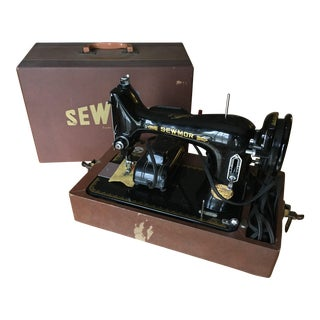 Antique Japanese Sewmor Sewing Machine
