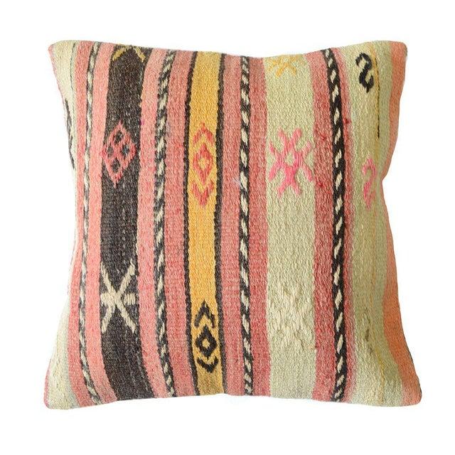 Pasargad Vintage Turkish Kilim Pillow - Image 2 of 3