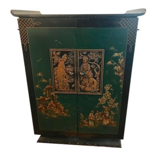 1930's Vintage Bar Cabinet For Sale